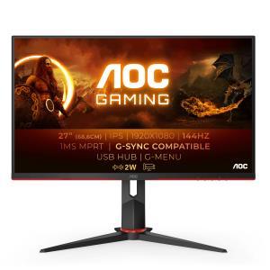 Desktop Monitor - 27G2U/BK - 27in - 1920x1080 (Full HD) - 1ms IPS