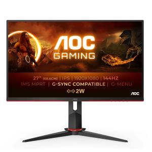 Gaming Monitor - 27G2AE/BK- 27in - 1920x1080 (Full HD) - IPS 1ms 144Hz