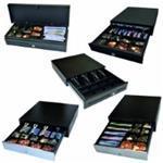 Apg Cash Drawer Ecd460, Black, Stainless