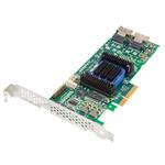 Raid Controller And Hba 6805e - SATA And Sas, 128mb, 8 Port PCI-e x4, Low-profile Md2/ Single