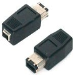 Firewire Adapter Ieee-1394 4pin-female To 6pin-male