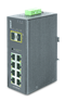 Industrial Managed Switch 8 100/1000x Sfp + 2-port 10/100/1000t